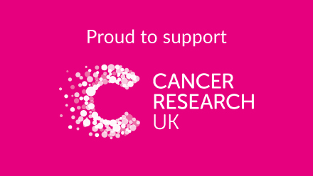 Proud to support Cancer research